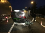 SAVONERA-COLLEGNO - Auto si ribalta: donna rimane bloccata a causa dellairbag - immagine 7