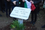 PIANEZZA-RIVOLI - La città di Torino da oggi ha un giardino dedicato a Vito Scafidi - LE FOTO - immagine 7