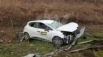 CASELLE-BORGARO - Paura in tangenziale: scontro fra due auto, una finisce fuori strada. Due feriti - immagine 7