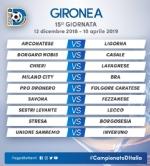 CALCIO SERIE D - Borgaro Nobis nel girone A: ecco il calendario del campionato - immagine 15