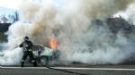 VENARIA - Auto a fuoco mentre percorre la tangenziale - immagine 7
