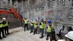 COLLEGNO - Partiti gli scavi per la stazione «Collegno Centro» della metropolitana - FOTO - immagine 7