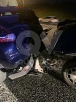 VENARIA - Tamponamento in tangenziale tra unauto e tre furgoni: una donna ferita - FOTO - immagine 8