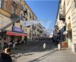 VENARIA - Il centro città set del film «Corro da te» con Pierfrancesco Favino e Miriam Leone FOTO - immagine 8