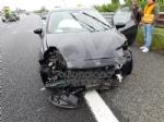 CAOS IN TANGENZIALE - Raffica di incidenti: due auto ribaltate e tre feriti - immagine 14