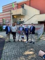COLLEGNO-GRUGLIASCO - I bambini dei centri estivi hanno ringraziato i medici dellAsl To3 - FOTO - immagine 8