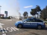 TORINO-BORGARO - Tir prende improvvisamente fuoco in tangenziale - immagine 8