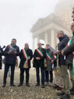 I sindaci di Collegno, Grugliasco, Rivoli, Druento e San Gillio firmano il «Patto di Superga» - immagine 8