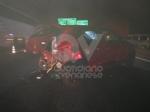 RIVOLI - Incidente in tangenziale: una macchina prende fuoco. Quattro persone rimaste ferite - immagine 8