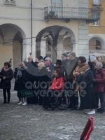 VENARIA - Il centro città set del film «Corro da te» con Pierfrancesco Favino e Miriam Leone FOTO - immagine 9