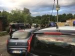 CAMPO NOMADI - Maxi blitz dei carabinieri contro roghi tossici e furti: 14 arresti - FOTO E VIDEO - immagine 9