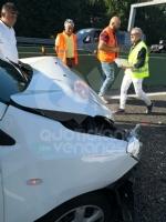 COLLEGNO - Maxi tamponamento in tangenziale : cinque mezzi coinvolti, un ferito - immagine 9