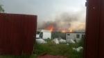 TORINO-BORGARO - Grave incendio in strada Villaretto: colonna di fumo nero altissima - FOTO - immagine 8