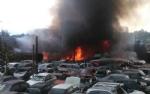TORINO-BORGARO - Grave incendio in strada Villaretto: colonna di fumo nero altissima - FOTO - immagine 5