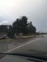 VENARIA-SAVONERA-DRUENTO-GIVOLETTO - Maltempo, strade allagate e decine di alberi caduti - immagine 1