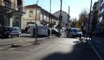VENARIA - Un altro incidente stradale in centro: auto ribaltata in viale Buridani - FOTO - immagine 3