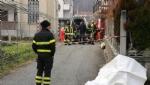 TRAGEDIA A CAFASSE - Operaio muore schiacciato da un muro: inutili tutti i soccorsi - FOTO e VIDEO - immagine 1