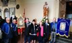 VENARIA - Festeggiato San Giuseppe sotto la pioggia: benedetta la nuova statua - LE FOTO - immagine 1
