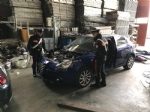 BORGARO-CASELLE-MAPPANO - Nellofficina abusiva venivano smontate le auto rubate: due arresti - immagine 1