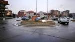 BORGARO - Teppisti in azione: vandalizzato il monumento al Grande Torino - LE FOTO - immagine 1