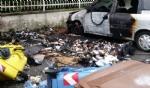 MAPPANO - Incendio distrugge unauto e dei cassonetti in via Rivarolo: potrebbe essere doloso - immagine 1
