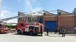 MAPPANO - Incendio nellarea industriale di via Cottolengo - immagine 1