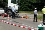 TORINO-VENARIA - Schianto moto contro camion: la vittima è un meccanico di Druento - immagine 1