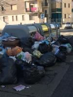 VENARIA - Rifiuti non raccolti in via Buozzi e via Diaz: insorgono i cittadini - immagine 1