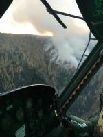 VENARIA - EMERGENZA INCENDI IN VAL SUSA: Anche lAves Toro in aiuto con un elicottero - immagine 1