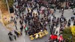 VENARIA G7 - IL CORTEO ENTRA IN CITTA: TENSIONE ALTISSIMA IN CENTRO - FOTO E VIDEO - immagine 5