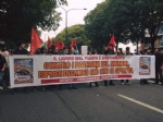 VENARIA G7 - IL CORTEO ENTRA IN CITTA: TENSIONE ALTISSIMA IN CENTRO - FOTO E VIDEO - immagine 1