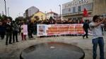 VENARIA G7 - TENSIONE IN PIAZZA: FUGHE E LANCI DI LACRIMOGENI E PETARDI - FOTO E VIDEO - immagine 5