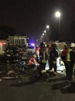 MAPPANO - Fuga di gas in via Dalla Chiesa: i lavori proseguiti per tutta la notte - immagine 1