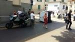 VENARIA - Ennesimo incidente stradale in corso Papa Giovanni: un ferito - immagine 2