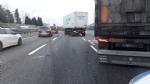 INCIDENTE IN TANGENZIALE - Si schiantano due mezzi pesanti: lunghe code e caos - immagine 2