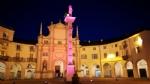 VENARIA - GIRO DITALIA 2018: La Reggia e piazza Annunziata illuminate di rosa - immagine 2