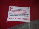 DRUENTO - Inaugurate le due panchine rosse nella piazza del Municipio - immagine 2
