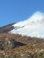 VENARIA - EMERGENZA INCENDI IN VAL SUSA: Anche lAves Toro in aiuto con un elicottero - immagine 3