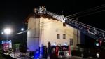 BALANGERO - Un furioso incendio devasta unabitazione - FOTO - immagine 6