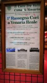 VENARIA - Successo per il concerto «Cinquanta anni cantati con il cuore» del Coro Tre Valli - immagine 3