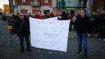VENARIA-BORGARO - Trecento persone per dire «basta» ai roghi e al degrado di strada Aeroporto - immagine 3