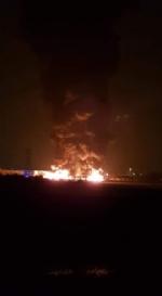 PIANEZZA-COLLEGNO - A fuoco i capannoni della ditta «Omnia Recuperi» di strada Signagatta - immagine 3