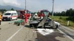 ROBASSOMERO - Grave incidente stradale sulla Direttissima: quattro feriti, uno grave - immagine 3