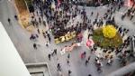 VENARIA G7 - IL CORTEO ENTRA IN CITTA: TENSIONE ALTISSIMA IN CENTRO - FOTO E VIDEO - immagine 7