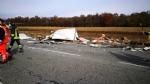 VENARIA - Terribile incidente sulla Direttissima: furgone sfonda il muro della Mandria, due feriti - immagine 4
