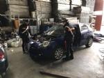 BORGARO-CASELLE-MAPPANO - Nellofficina abusiva venivano smontate le auto rubate: due arresti - immagine 4