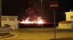 PIANEZZA-COLLEGNO - A fuoco i capannoni della ditta «Omnia Recuperi» di strada Signagatta - immagine 4