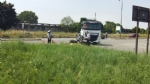 TORINO-VENARIA - Schianto moto contro camion: la vittima è un meccanico di Druento - immagine 7