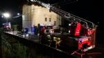 BALANGERO - Un furioso incendio devasta unabitazione - FOTO - immagine 8