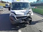 BORGARO-VENARIA - Tamponamento in tangenziale: quattro auto e un furgone. Due i feriti - immagine 5